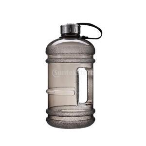 ウォーターボトル 大容量 2.2L スポーツジャグ 水筒 全7色 - ブラック|stk-shop