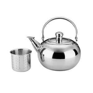 説明: このティーケトルは耐久性と再使用可能なステンレス製です。 それはまた、あなたのお茶のための迅...