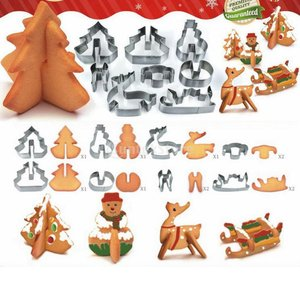 説明:速くて楽しいクリスマスのための素晴らしい簡単に3Dの形を作る:クリスマスツリー、雪だるま、スレ...