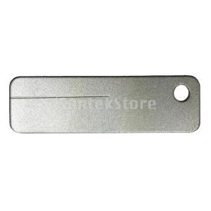 Baoblaze ポータブル ミニ ダイヤモンド シャープナー 砥石 屋外ツール 400グリット |stk-shop