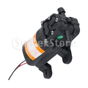 12ボルトdcウォーターポンプ自吸式洗車ポンプ電動スプレーポンプ4脚