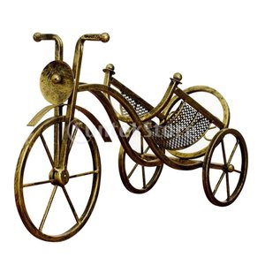 説明: 鉄製品、強くて丈夫ビンテージの自転車型の赤ワインラックは素晴らしい雰囲気です。 合理的なデザ...