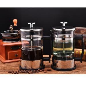 ステンレス鋼の古典的なフレンチプレスティーエスプレッソコーヒーメーカー350ml 1-2カップ|stk-shop