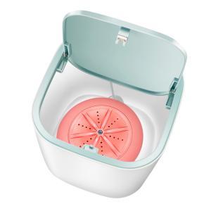 ピンク 旅行洗濯機 ミニポータブル洗濯機キャンプ|stk-shop