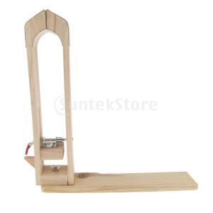 木製 レザークラフト テーブルツール 革材固定 クランプツール DIY 縫製 工芸品|stk-shop