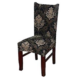 椅子カバー チェアカバー座面+背部用 ウェディング 結婚式パーティー用品洗える全4色 - 4