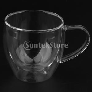 二層ガラスエスプレッソカップホームバーウェア|stk-shop