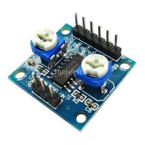 2チャンネル デジタル アンプボード D級 ボリューム ポテンショメータ付き オーディオモジュール 高増幅効率|stk-shop