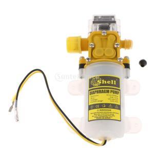 ミニ 水圧ポンプ ダイヤフラム DC24V  75 PSI セルフプライミング 電磁 スプレーポンプ 2.5L/min