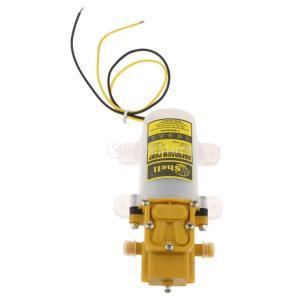 Fenteer ミニ 水圧 ブースターポンプ ダイヤフラム DV12V 60W セルフプライミング 4L/min 75 PSI |stk-shop