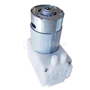 ブラシマイクロ真空ポンプ工業用セルフプライミングポンプ5v12b80r48