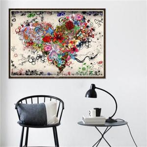 Fenteer 5Dダイヤモンド ペイント キット DIY 刺繍 壁絵 ポスター 手芸 装飾 絵画 壁飾り 塗装 贈り物 全4タイプ - 1#|stk-shop