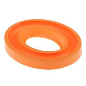 Fenteer スレッド ボビン オーガナイザー リング ホルダー 縫製部品 ゴム シリコン 耐久性 全6色 - オレンジ|stk-shop