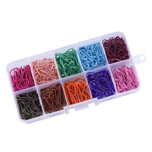 IPOTCH 約300個 安全ピン ニットピン ダルマ型 縫製 編み|stk-shop