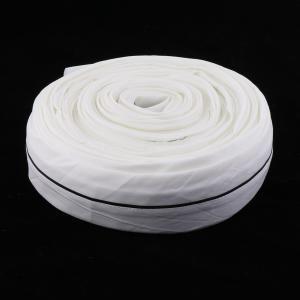 説明:ポリエステル繊維製のあや織り伸縮性のある伸縮性ゴムバンドスプール。 このニットゴムバンドは、か...