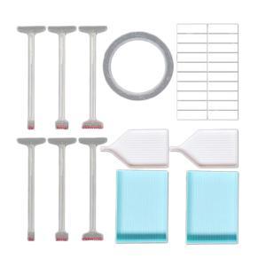 5Dダイヤモンド塗装ツールセットポイントモザイク接着剤ペンクロスステッチアクセサリーキット|stk-shop