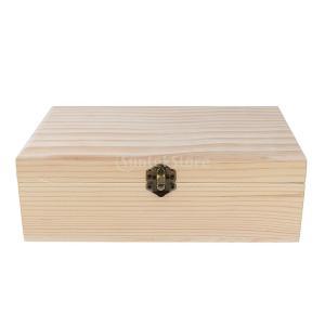 オイルボックス 木製収納ボックス 香水 オイル 収納 高品質 耐久性 無臭 全5仕様選べる - 25.2x14.6x8.3cm|stk-shop