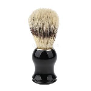 Baoblaze シェービングブラシ 洗顔ブラシ 天然木 ハンドル シェービング スキンケア メンズ プレゼント|stk-shop