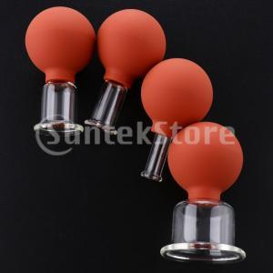 説明: グラスマッサージ真空カッピングカップセット、カッピングへの伝統的かつ自然なアプローチ。 循環...
