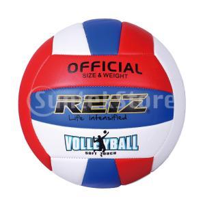 バレーボール 5号 ビーチバレー ソフトレザーボール トレーニング 高校試合 レーシング 屋内屋外用