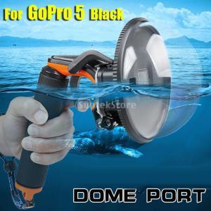 Flameer プロ仕様 ドームポート GoPro Hero 5 6用 水中撮影 防水ハウジング付き 浮動ハンドルグリップ ダイビング カメラアクセサリー |stk-shop