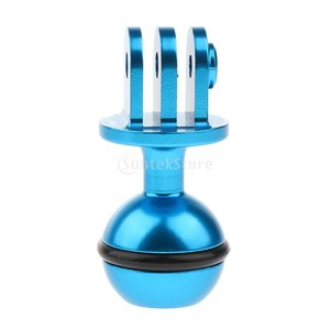 ラムマウント ボールヘッド ベース 三脚アダプタ 360度回転 CNC合金 全3色 調整ポイント -...