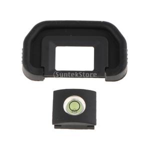 Perfk Canon EOS 6D Mark II/80D用 カメラファインダー アイカップ アイ...