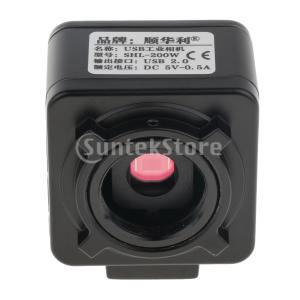 Sharplace デジタル顕微鏡カメラ CMOS CCD Cマウント 工業単眼顕微鏡 2P 出力ケーブル 高解像度