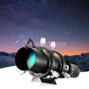 アストロ望遠鏡用ブラケット付き50mm CCDイメージングガイドスコープファインダースコープ