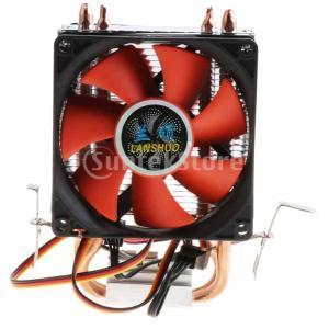 説明:  2ヒートパイプとデュアルタワーヒートシンクの設計により、放熱が速くなり、CPUを過熱から保...