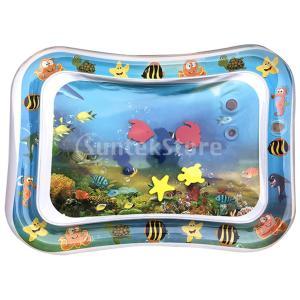 インフレータブルベビーウォーターマット幼児ベビー幼児楽しい活動プレイセンター|stk-shop