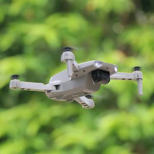 カメラ付きミニドローンWiFiFPV自己安定化ジンバル1080Pシングルカムグレー|stk-shop