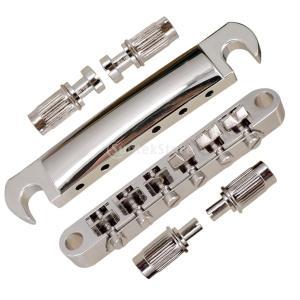 説明:  1セット電気ギターのサドルブリッジのテールピースロックポスト 100%真新しい、高品質、絶...