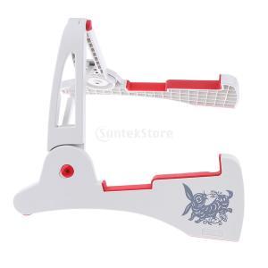 説明: 高品質で新しいAフレームデザインのギタースタンド便利な収納と携帯性のためにフラットな折り畳み...