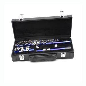 Baosity 人工レザー ピッコロハードケース フルートギグバッグ ボックス ミュージカル 木管楽器パーツ