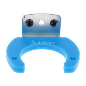 マイクスピーカーホルダー マイクスピーカーホルダー ブラケット 全4色 - 青|stk-shop
