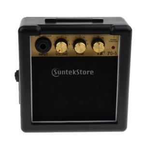 説明: 直感的な操作で爆発音を演出する5ワットエレクトリックギターアンプ移植性のために9Vバッテリー...