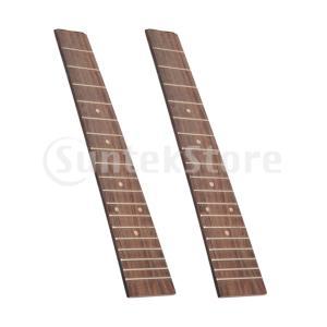 ウクレレギター指板指板のギターの交換18フレットW /インレイドット