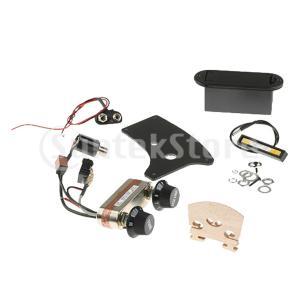高品質 DIYパーツ ブリッジ バッテリーボックス 接続ケーブルなど 4/4電気バイオリン用