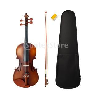 説明:  4/4フルサイズナツメウッドバイオリンフィドルアクセサリーセット。 新しいデザインのアコー...