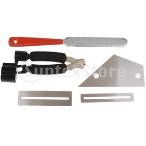 フレット磨きプレート フレットファイル フレットロッカー 弦ワインダー フレットボードガード