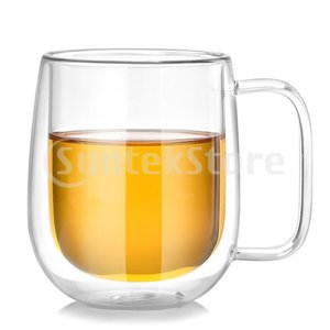 ダブルウォールグラス ガラス水カップ ティーカップ 断熱ガラス製 使いやすさ 便利 stk-shop