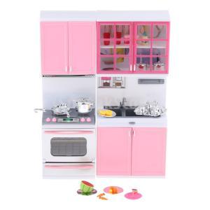 F Fityle 2色選ぶ  おままごと 子ども キッチン遊びセット 調理器具 プレイセット おもちゃ - ピンク