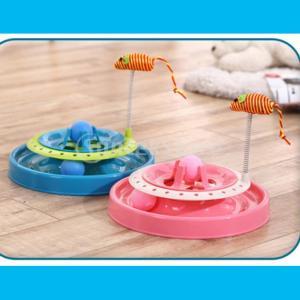 説明: 楽しいと刺激2イン1猫のアミューズメントディスクは、多くの楽しみと優れた健康上の利点を持って...