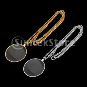 説明: 拡大6倍。 ネックレスチェーンのデザインは、どこでも使える便利なアイテムです。 宝石商、修理...