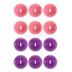 屋内練習用ゴルフボールを訓練した6個の穴の開いたゴルフボール|stk-shop