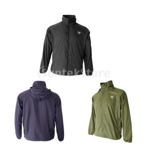 屋外男性の女性の包装防水速乾性のフード付きジャケット