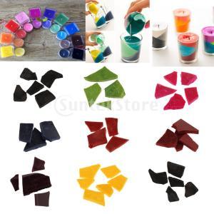 キャンドルの着色のための5g / bagキャンドル染料チップ天然植物ワックス染料|stk-shop