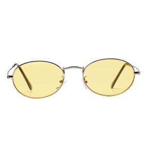 女性の男性レトロヴィンテージラウンドサングラスメタルフレームメガネ|stk-shop