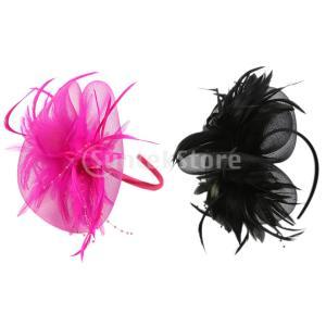 1920年代Headpiece Feather FlapperヘッドバンドGreat GatsbyヘッドドレスVintage Prom|stk-shop